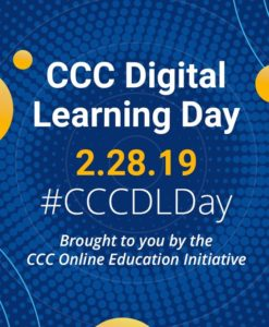 CCC Digital Learning Day