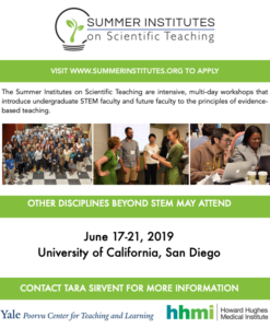 2019 Summer STEM Teaching Institute