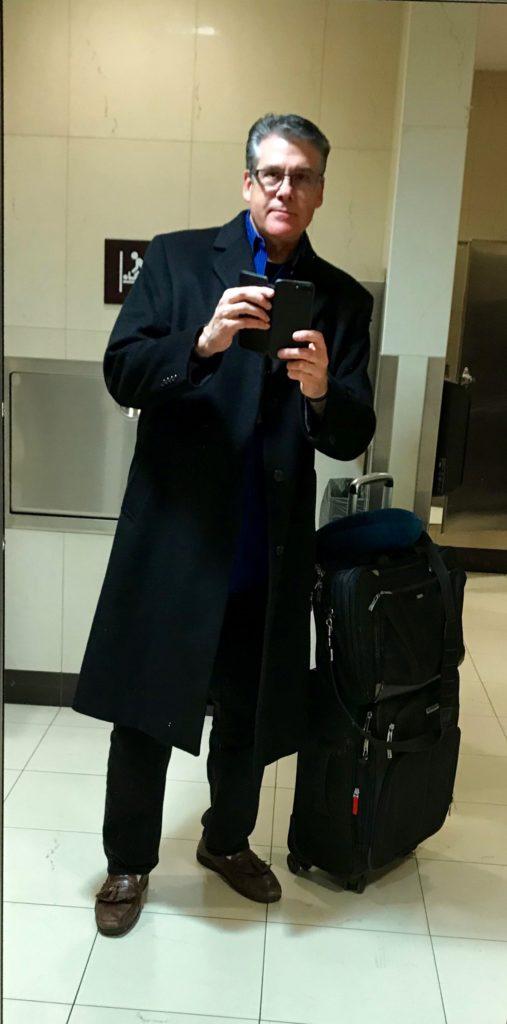 Gary Tira takes a selfie