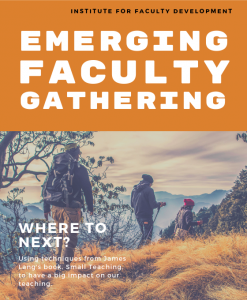 Emerging Faculty Gathering