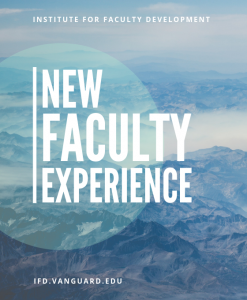 New Faculty Experience graphic