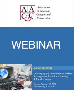 AAC&U Webinar graphic