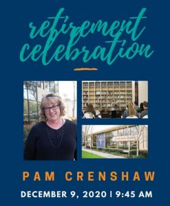 Pam Crenshaw retirement celebration